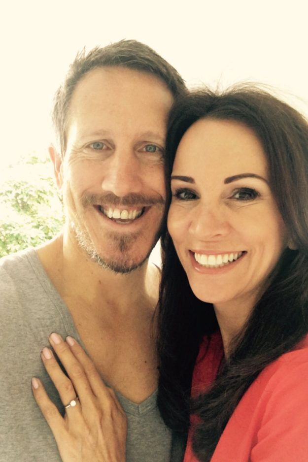 Andrea McLean has announced her engagement to Nick Feehey