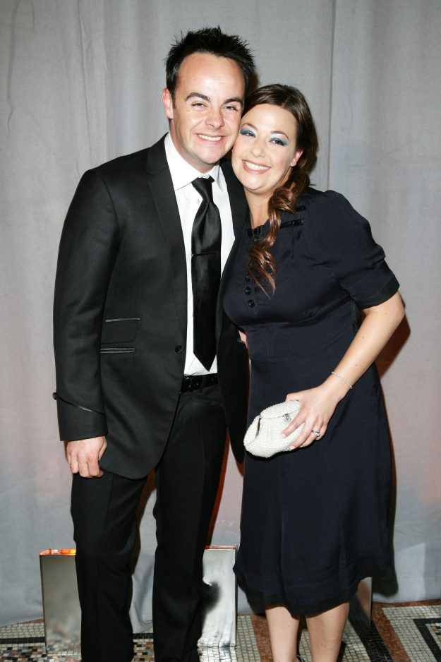 Ant McPartlin and wife Lisa Armstrong