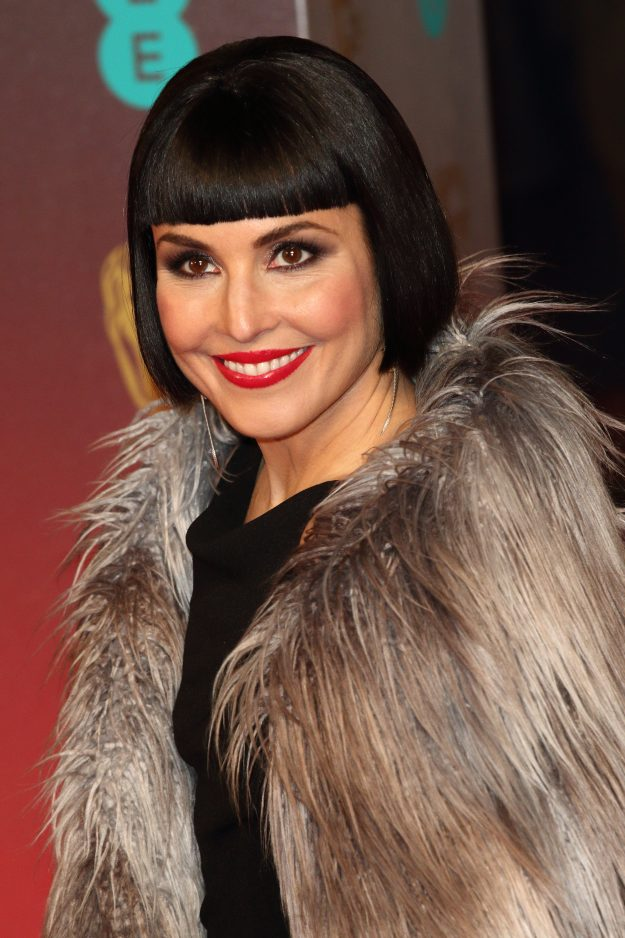 Actress Noomi Rapace on the red carpet