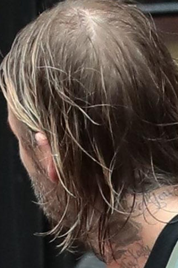 David Beckham Appeared To Have A Bald Patch At The Back Of His Head Backgrid
