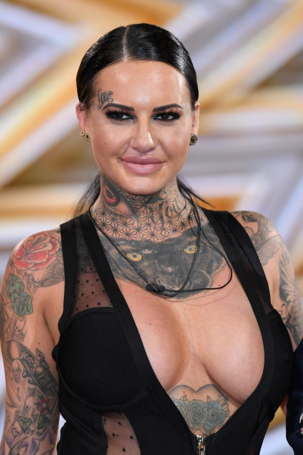 BOREHAMWOOD, ENGLAND - AUGUST 25: Jemma Lucy is evicted from the Celebrity Big Brother house at Elstree Studios on August 25, 2017 in Borehamwood, England. (Photo by Karwai Tang/WireImage)