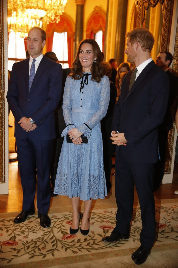 Prince William, Duke of Cambridge and Catherine, Duchess of Cambridge and Prince Harry all supported World Mental Health Day