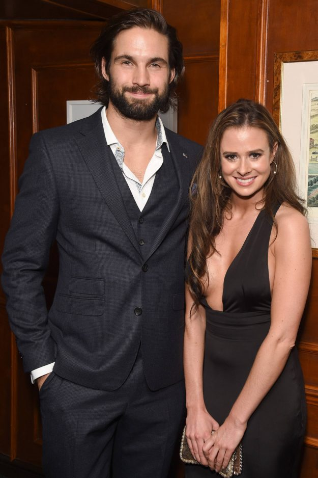 Jamie Jewitt and Camilla Thurlow attend the International Day Of The Girl Gala in support of The Princes Trust