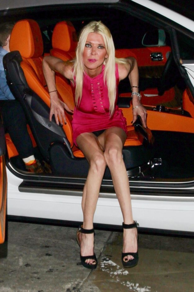 Tara Reid flashed a lot more than she intended to