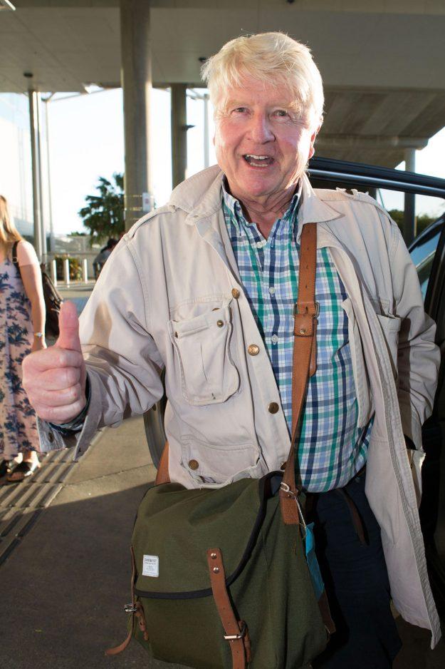 I'm A Celebrity 2017: Boris Johnson's DAD Stanley Johnson arrives in Australia ahead of surprise jungle stint