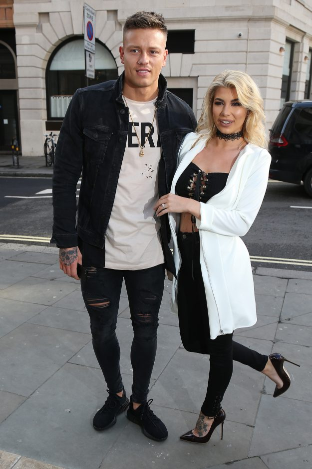 Olivia Buckland and Alex Bowen are both big fans of tattoos