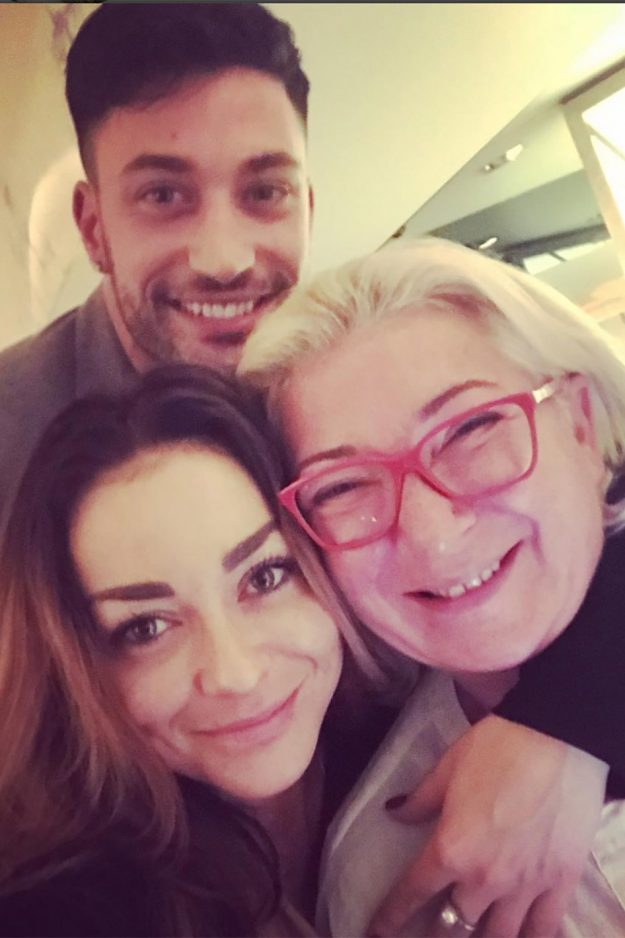 Celebrity friends commented on this picture of Lube Mushtuk and Giovanni Pernice