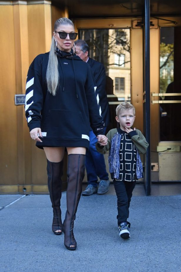 Fergie and son Axl