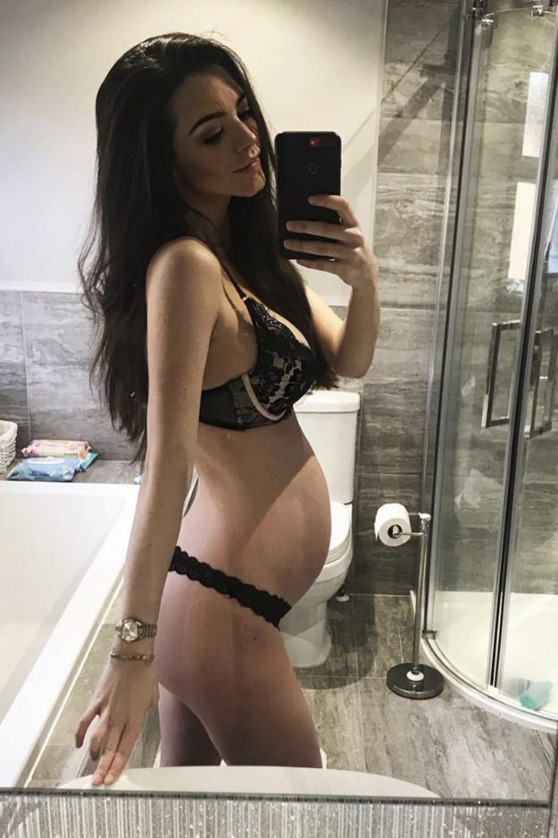 Emma McVey is set to give birth any day now