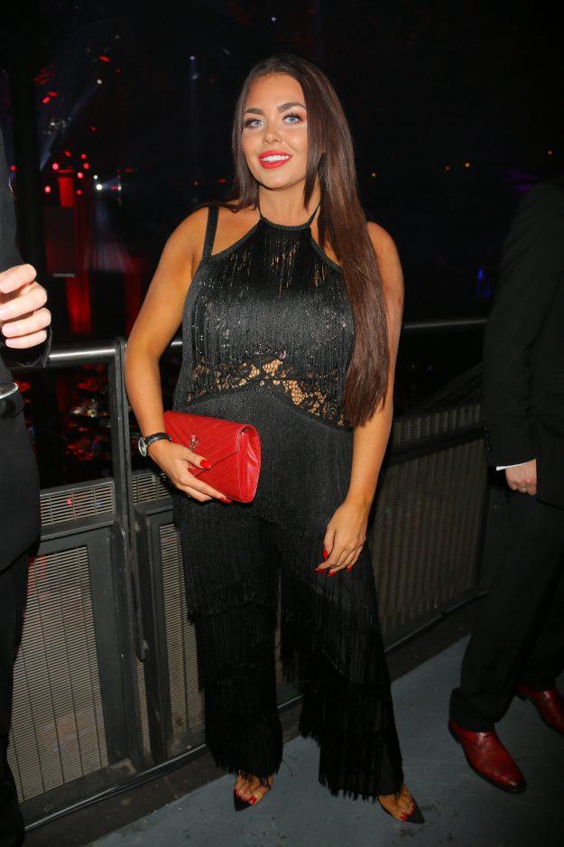 Scarlett Moffatt returns to the red carpet at the Attitude Awards in London