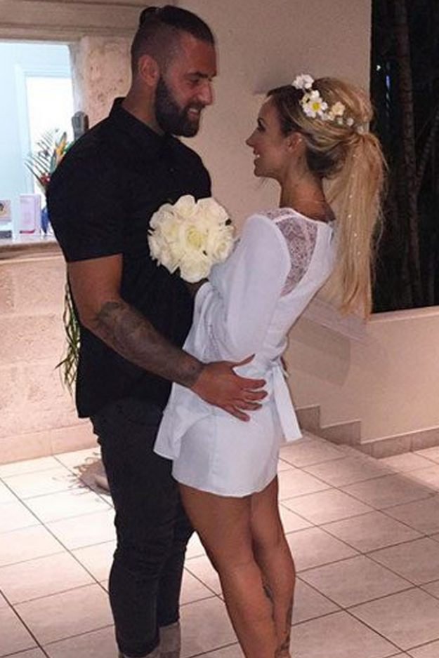 Jodie Marsh recently split up with husband James Placido after 8 months of marriage