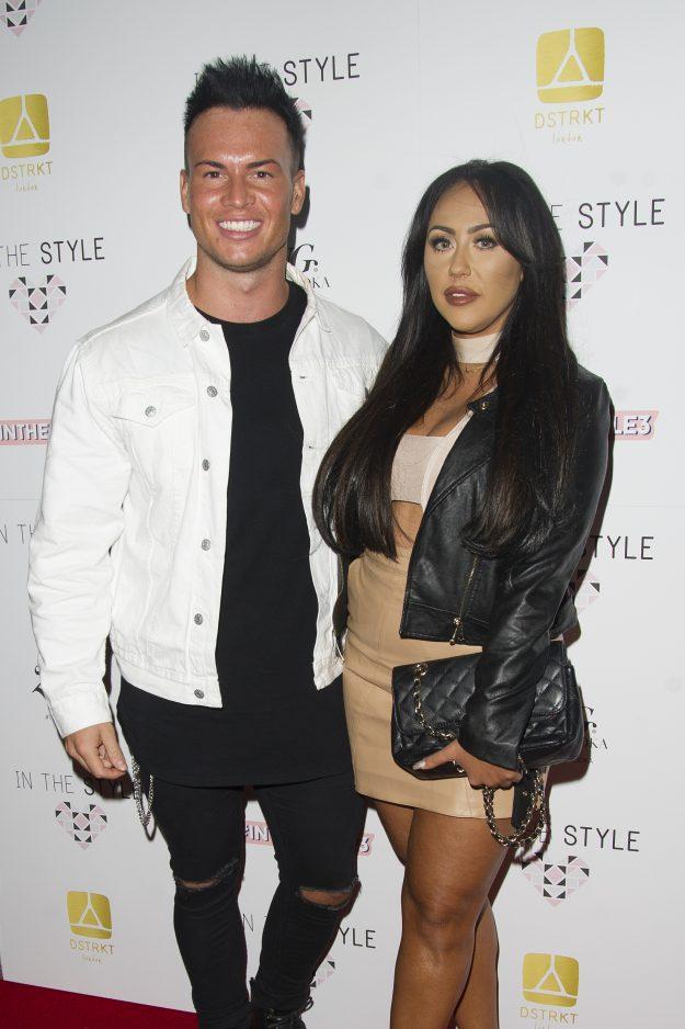 Geordie Shore's Sophie Kasaei with boyfriend Joel Corry