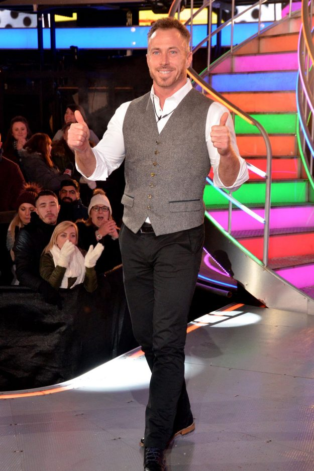 Celebrity Big Brother: James Jordan was evicted from the house and met by a booing crowd