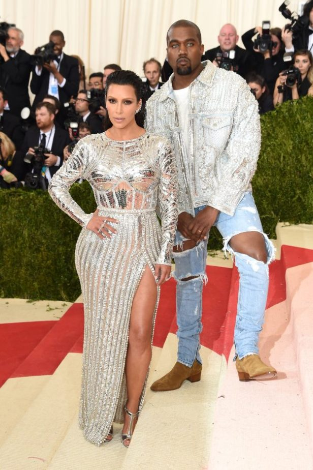 Kim Kardashian West and Kanye at Met Gala 2016
