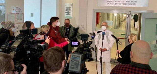 Wojciech Maksymowicz: ''Budzik może przyjąć mieszkającego w Anglii Polaka w śpiączce''