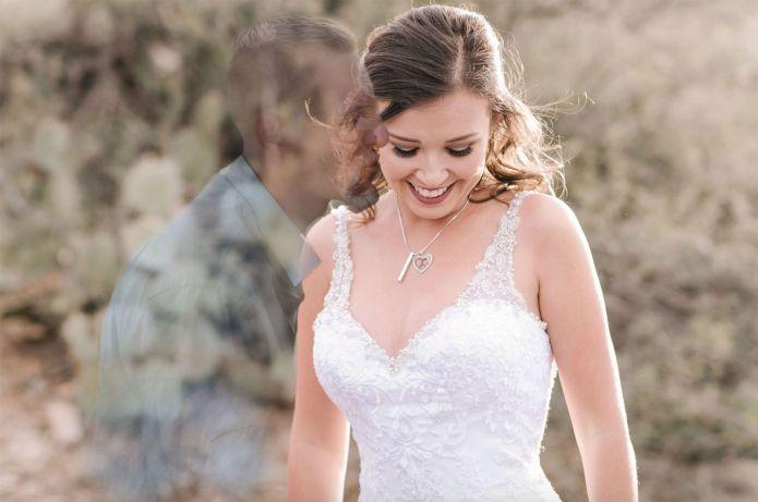 Arizona Bride Has Late Fiance Edited into Wedding Photos | PEOPLE.com