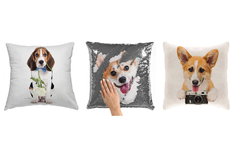custom pet pillow from amazon