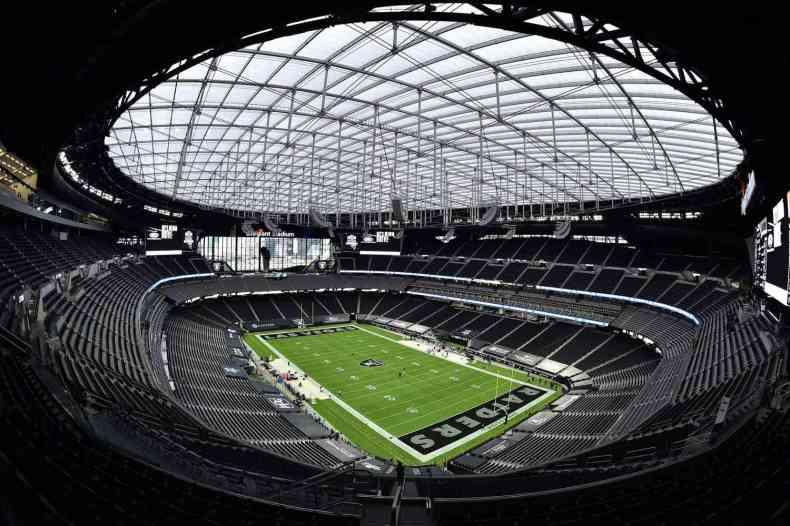 See Inside the New Las Vegas Raiders Allegiant Stadium | PEOPLE.com