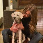 Jennifer Aniston Poses With Puppy For Thanksgiving People Com