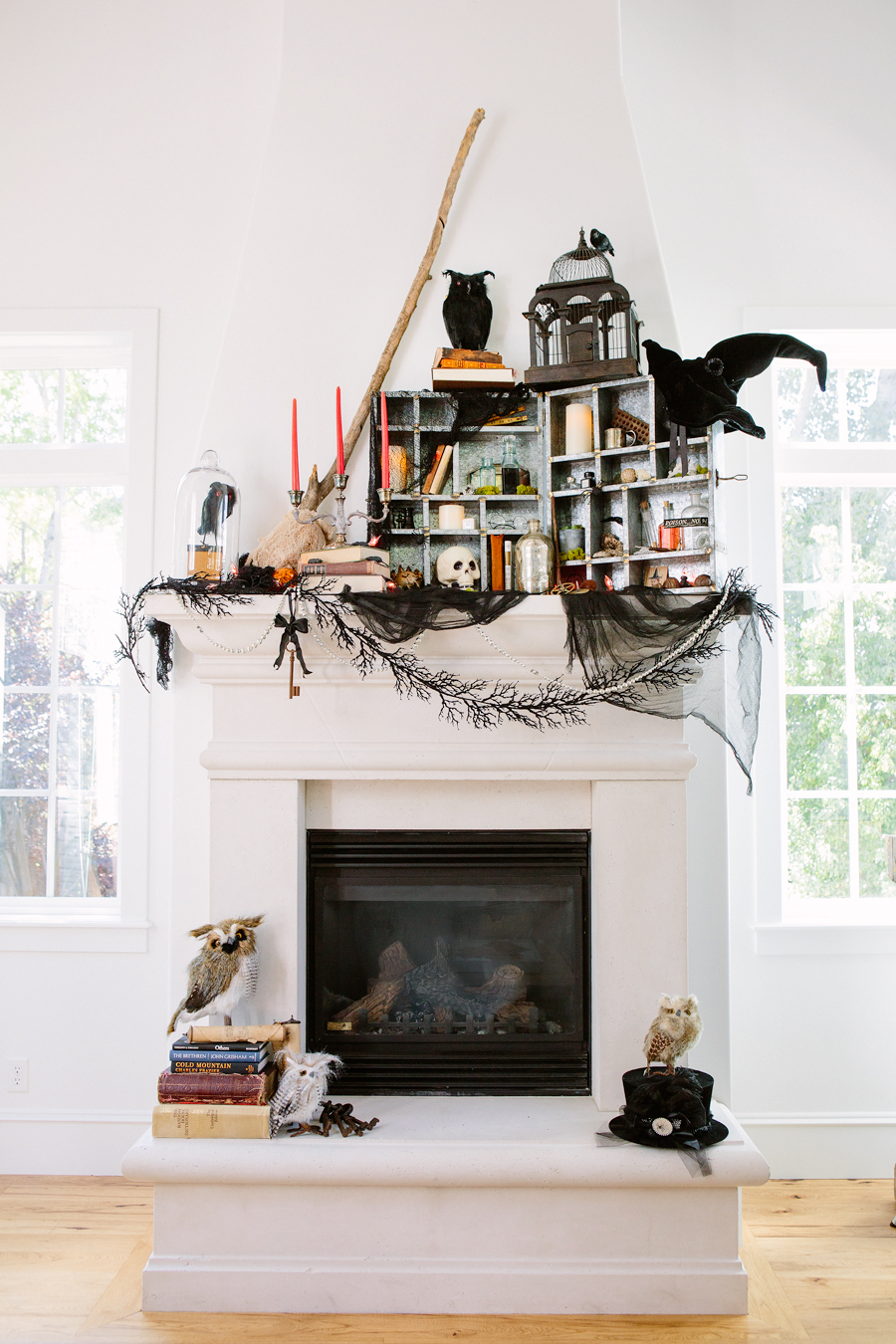 10 Creative Places To Decorate Your House For Halloween Real Simple