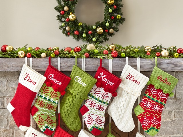 Shop Personalized Christmas Stockings for Under $27 on Walmart
