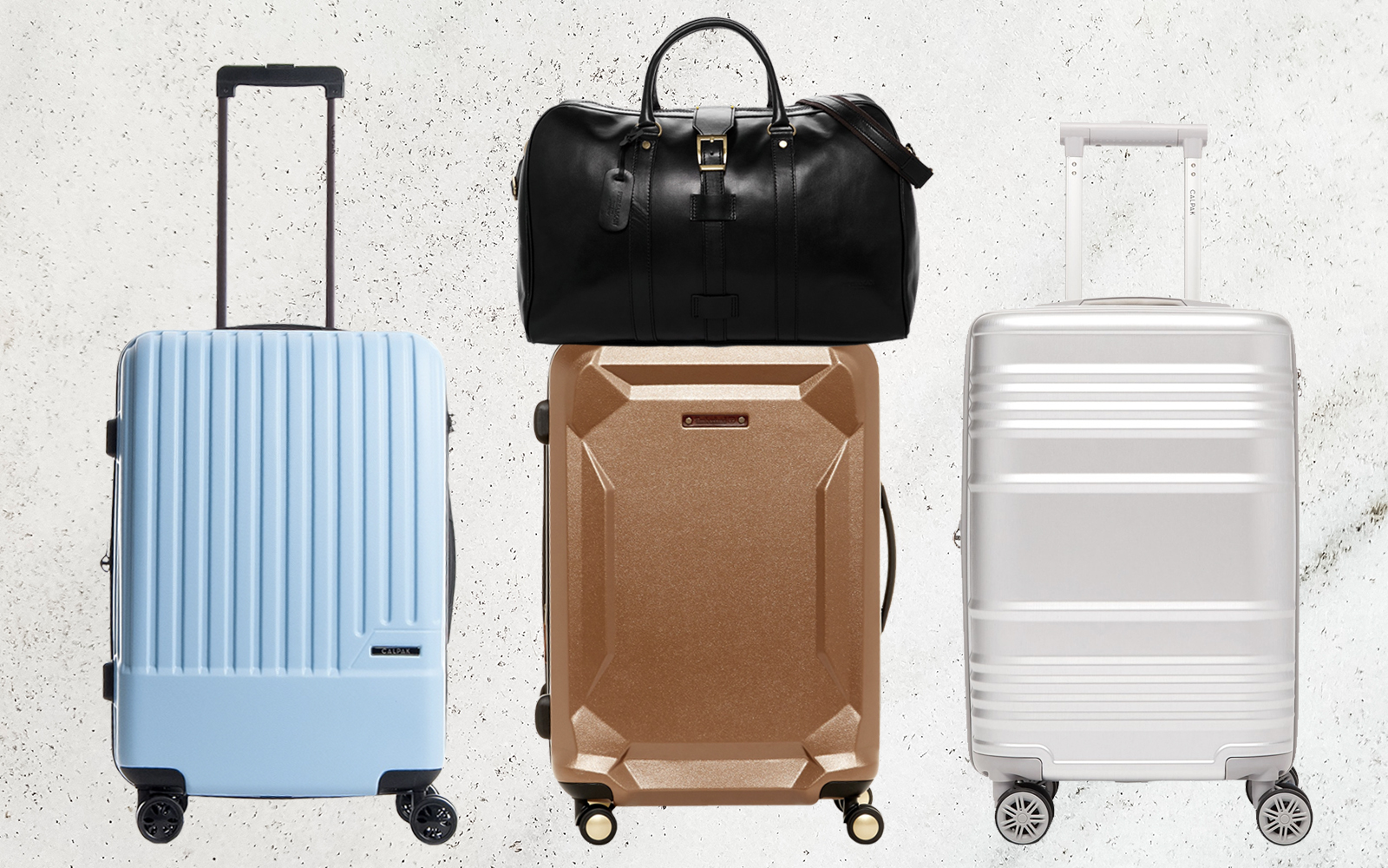finding great luggage