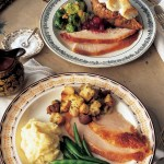A Classic Thanksgiving Dinner Menu With Turkey And All The Trimmings Martha Stewart
