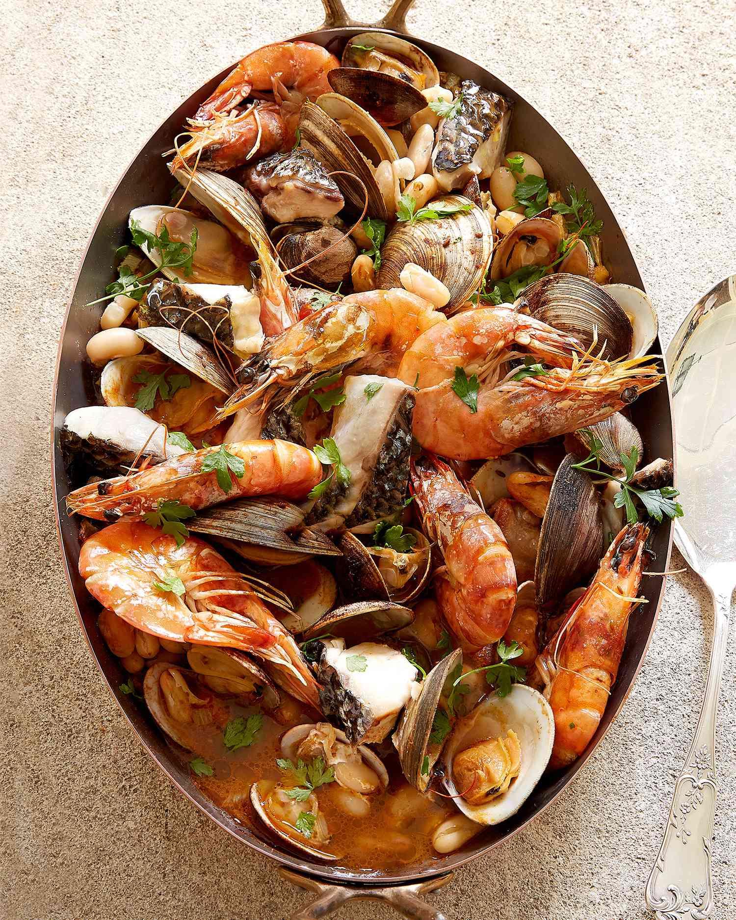 Seafood Christmas Food Ideas : seafood, christmas, ideas, Seafood, Recipes, Great, Options, Entertaining, Martha, Stewart