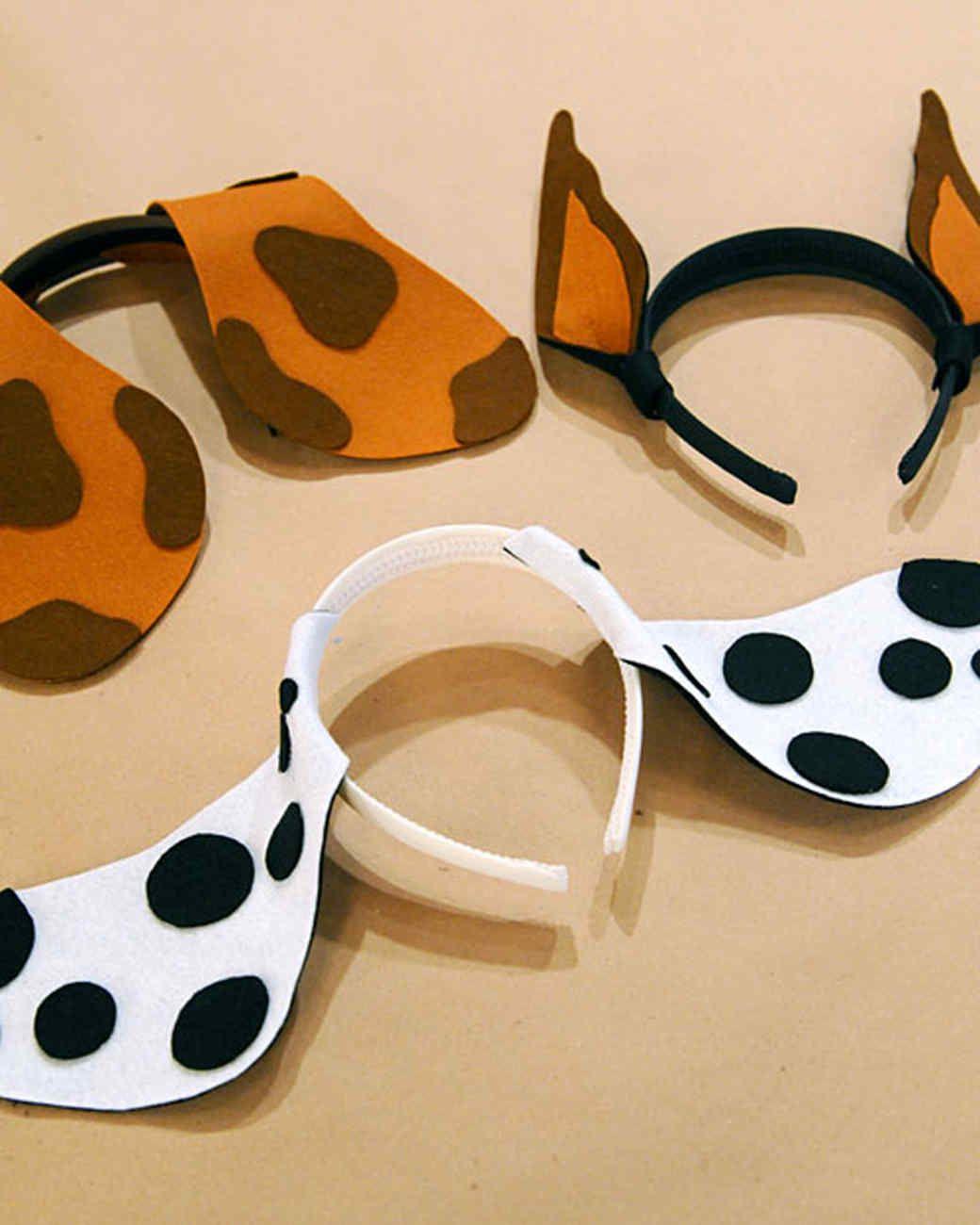 Dog Ear Pattern : pattern, Puppy, Headband, Martha, Stewart