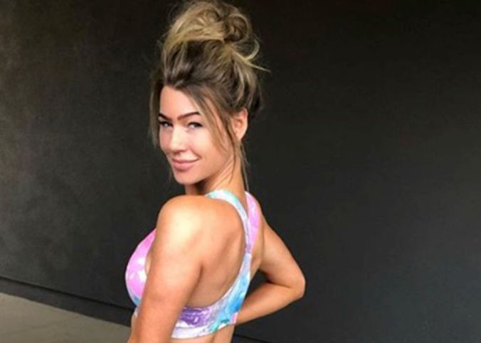 Anna Victorias Post Vacation Fitness Update Is Authentic In The Best Way Shape