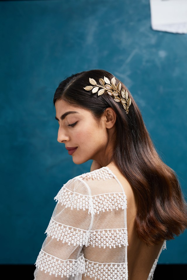hair accessories your flower girl will love | martha stewart