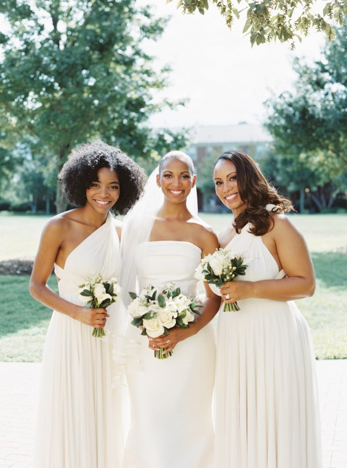 pretty wedding hairstyles for your bridesmaids | martha