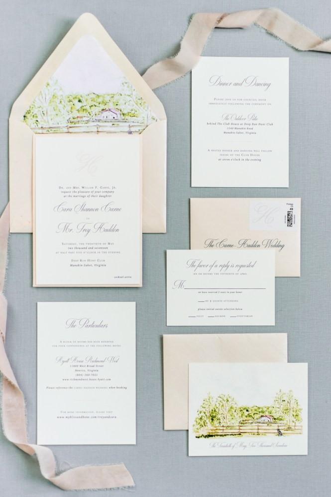 Spring Wedding Invitations We Love Martha Weddings