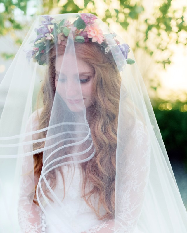 33 ways to wear your hair down for your wedding | martha