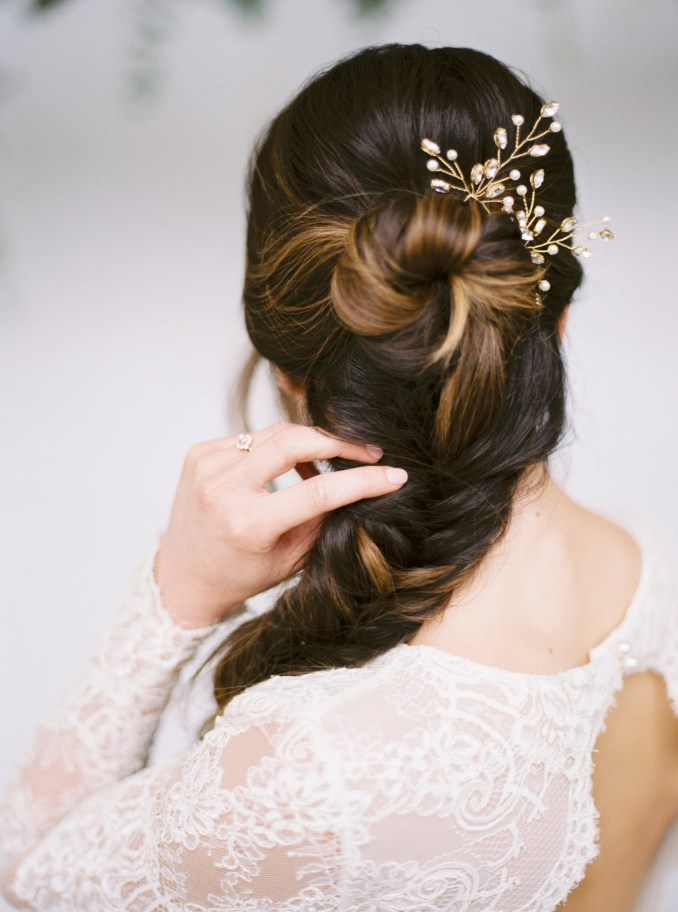 modern wedding hairstyles for the cool, contemporary bride