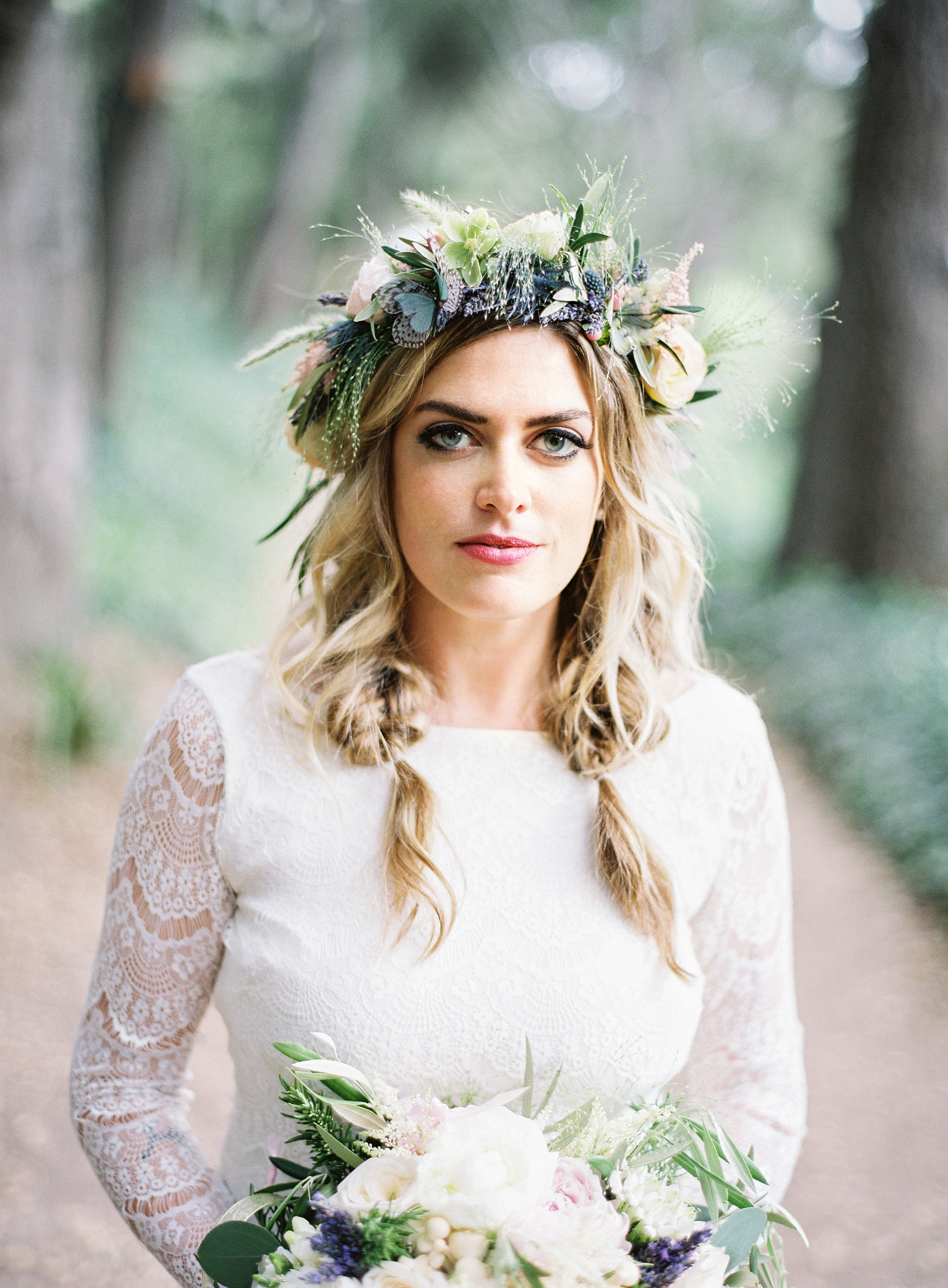 68 flower crown ideas