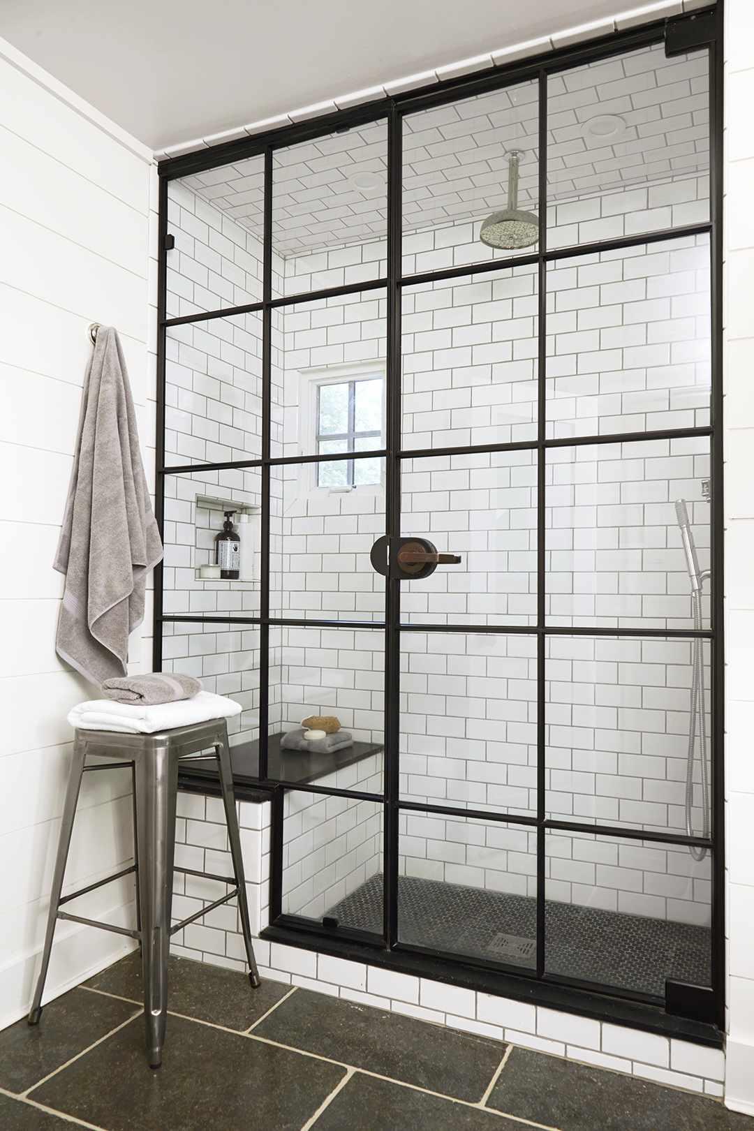 How To Clean Shower Doors Better Homes Gardens