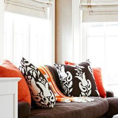 Light Brown Sofa Living Room Ideas Arm Chairs Ways To Decorate With A Orange