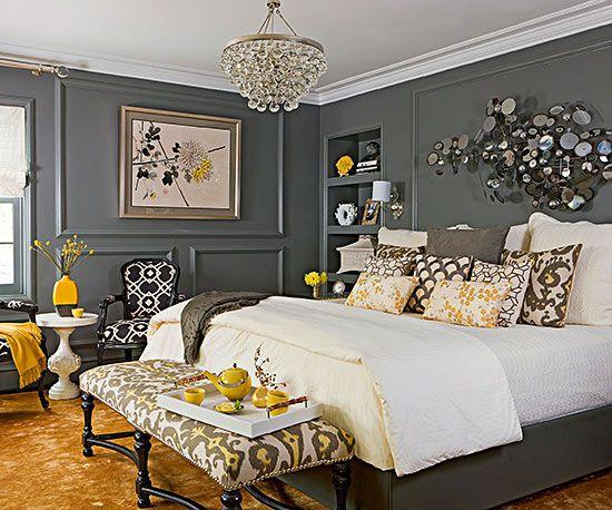 Gray Bedroom Ideas Better Homes Gardens