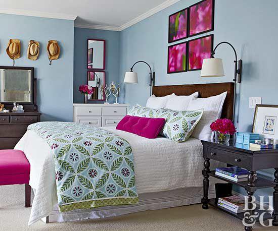 pale green color scheme for bedroom Bedroom Color Schemes | Better Homes & Gardens