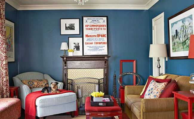 Decorating With Blue Walls Better Homes Gardens