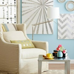 Diy Canvas Art For Living Room Blue Sheer Curtains 39 Blank Walls Solutions Your Home Artwork