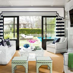 Window Treatment Ideas For Living Room Sectional Sofa Treatments Better Homes Gardens 11 Solutions Sliding Doors