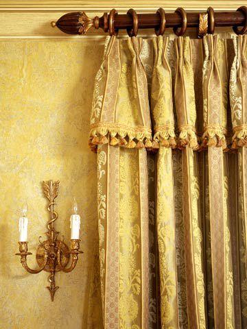 drapery header styles better homes