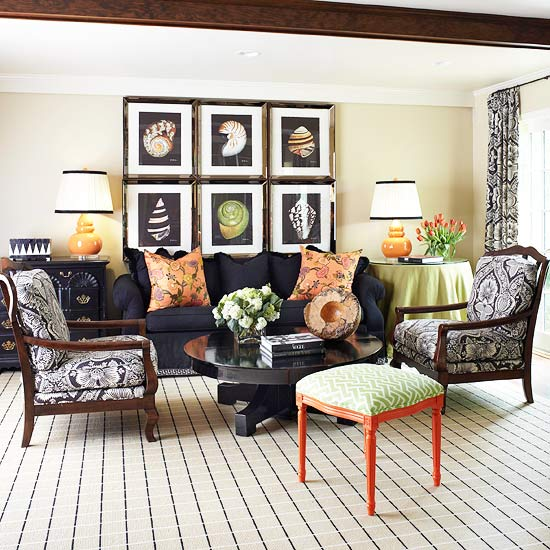 black sofa living room seaside rooms decorating with a accessories and sofas