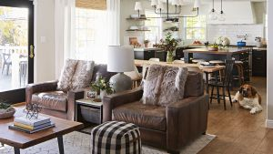 Leather Furniture Facts And Care Tips Better Homes Gardens