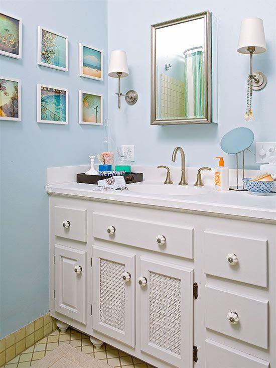 Bathroom Vanity Makeover Ideas  Better Homes & Gardens