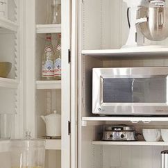 Best Small Kitchen Appliances Sink Cabinets Lowes Options For Appliance Garages