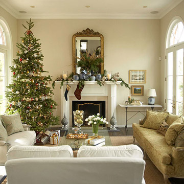 pictures of living room decorated for christmas design rooms pretty keep additions casual