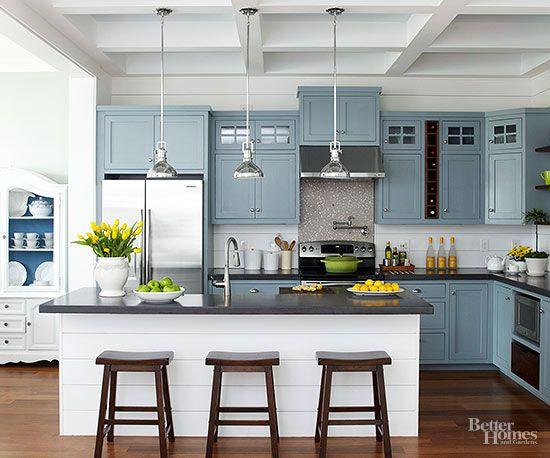 Kitchen Color Schemes  Better Homes  Gardens